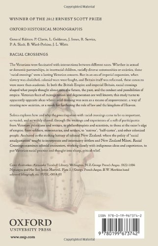Racial Crossings: Race, Intermarriage, and the Victorian British Empire (Oxford Historical Monographs)