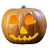 Zucca con luce terrorizzante Halloween II