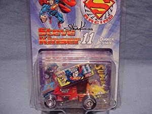 Action Racing Collectables 1:50 Superman Racing Steve Kinser #11 Quaker State Sprint Car Red/Blue/Yellow