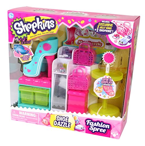 Shopkins Fashion Spree Shoe Dazzle JungleDealsBlog.com