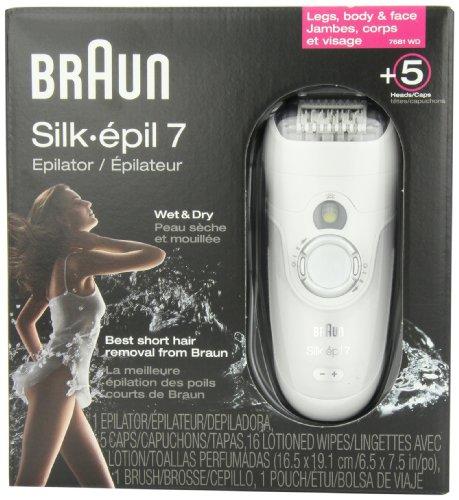 Epilatore Braun Silk Epil 7 Acquista ugelli