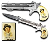Billy the KID Western Era Assisted Folding Knife Pistol Style