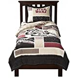 Star Wars Embroidered Quilt Set- Upscale Version - Twin Size