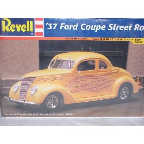 FORD COUPE STREET ROD HOT ROD 1937 BAUSATZ KIT 1/24 REVELL MODELLAUTO