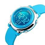USWAT® Children Digital Watch Outdoor Sports Watches Boy Kids Girls LED Alarm Stopwatch Wrist wa...