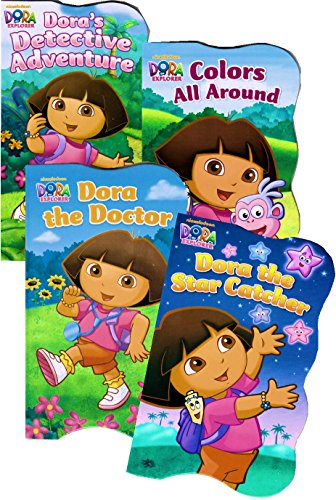 Dora the Explorer Board Books - Set of Four