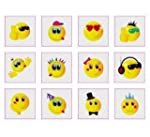 Smiley Temporary Tattoos Pack of 24