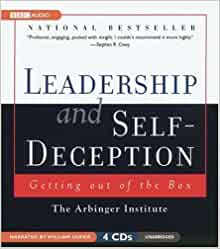 leadership and self deception book report Cliff notes - leadership and self deceptionpdf by remon4hr in types   presentations and cliff  book review leadership in healthcare essential  values and skills pdf  ksrtc employees (performance appraisal report)  regulations 1.