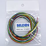 BELDEN 8503 フックアップワイヤー5色セット 8503-01-5