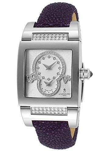 de-grisogono-womens-automatic-instrumentino-dual-time-silver-dial-purple-galuchat