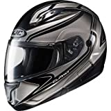 HJC Zader Men's CL-MAX II Bluetooth Full Face Motorcycle Helmet - MC-5 / Medium