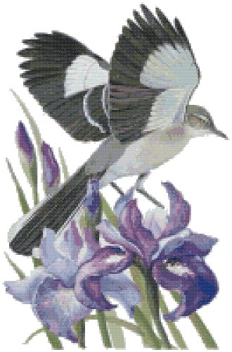 Tennessee State Symbol Counted Cross Stitch Pattern