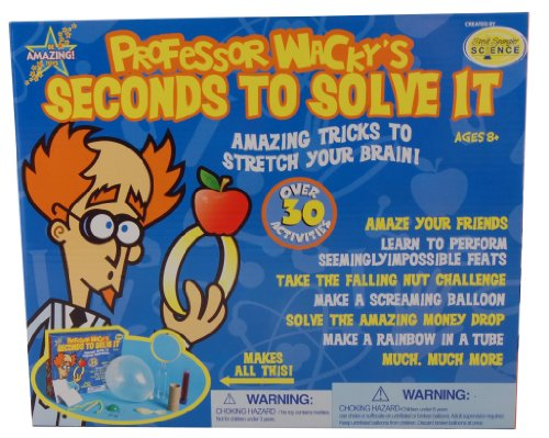 Professor W Seconds to Solve