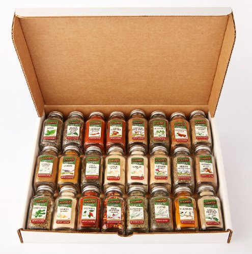 Top 24 Organic Spice Gift Set