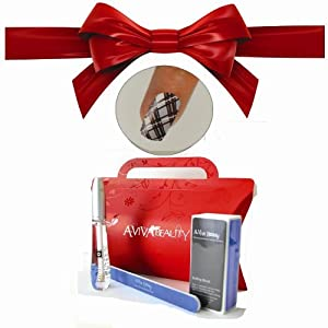Le clou Dépouille la Trousse Diagonal+ le Pétrole de Cuticule de Swisa + la Trousse de Clou d'UN-viva - le Tampon + le Dossier de Clou Ecologique + la Boîte cadeau Rouge