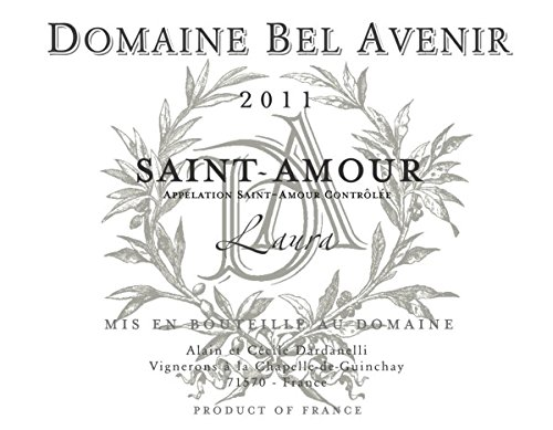 2011 Domaine Bel Avenir: Saint-Amour Laura 750 Ml