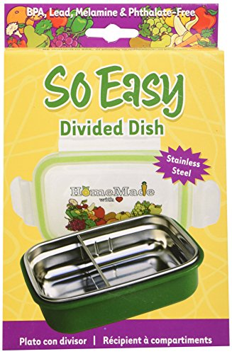 Fresh Baby So Easy Divided Dish, Green