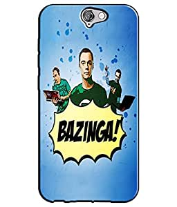 EU4IA BIG BANG THEORY MATTE FINISH 3D MATTE FINISH Back Cover Case For HTC ON...