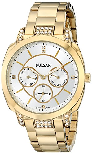Pulsar Multifunction Stainless Steel - Gold-Tone Women's watch #PP6136