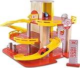 Vilac Garage Racing 2010 2327 Toy Car Park Wooden
