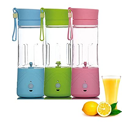 Electri Portable USB Rechargeable MINI Fruit Smoothie Juice Blender 380ml
