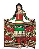 Dipak Women's Cotton Unstitched Dress Material (4008_Multi-color)