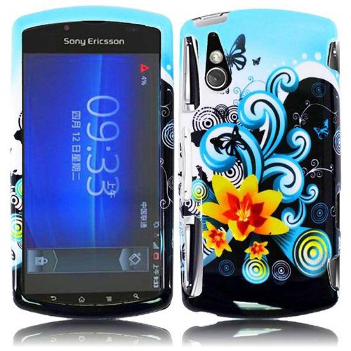 Cell Accessories For Less (Tm) For Sony Ericsson Xperia Play R800 Design Cover Case - Yellow Lily - By Thetargetbuys *Free Shipping*