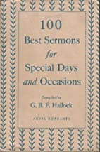 100 Best Sermons for Special Days and…
