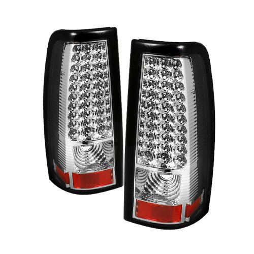 Spyder Auto Alt-On-Cs03-Led-C Chevy Silverado 1500/2500/3500 And Gmc Sierra 1500/2500/3500 Chrome Led Tail Light