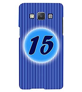 Fuson 3D Printed Numerology Designer back case cover for Samsung Galaxy A5 - D4233