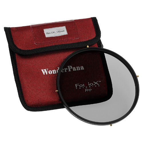 Fotodiox Pro 145mm Circular Polarizer (CPL) Filter – Pro1 CPL Filter (works with WonderPana 145 & 66 Systems)