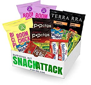 Healthy SNACK ATTACK care package by Stun Inc. | finals, college, office, care package, military