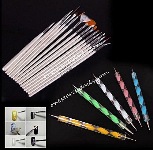 20-pcs-nail-art-design-set-dotting-painting-drawing-polish-brush-pen-tools