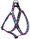 Lupine 1-Inch Flower Power Step-In Harness for Large Dogs, 24 to 38-Inch