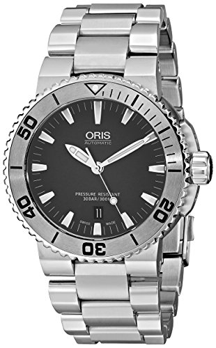 ORIS AQUIS 01 733 7653 4153-07 8 26 01PEB reloj para hombre de acero inoxidable para hombre reloj de Hombre de estilo