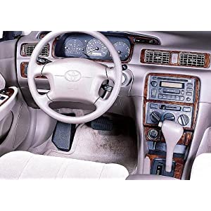 toyota camry interior wood dash trim kit set 1997 1998. Black Bedroom Furniture Sets. Home Design Ideas