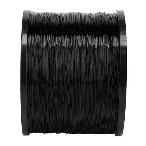 Skysper 1000m fishing line black nylon fishing line 35lb for Nylon fishing line