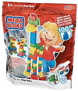 Mega Bloks First Builders Bag (100 Pieces)