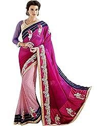 CSE Bazaar Women Indian Saree Beautiful Fancy Ethnic Cultural Party Wear Sari - B00SO6P3OK