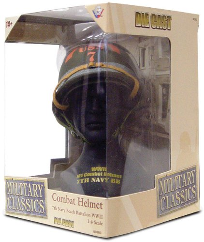 Gearbox Military Classics Combat 7th Navy Beach Batalion WWII Helmet