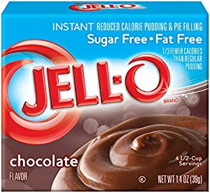 Jell-O Chocolate Sugar Free/Fat Free, Instant Pudding & Pie Filling, 1.4 oz