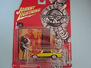 1977 Oldsmobile Delta 88 Guns N Roses By Johnny Lightning with Miniature Record Album