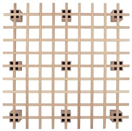 Tojo System Bett 200 Buche Multiplex 200 x 200cm