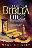 img - for Lo que la Biblia dice (Spanish Edition) book / textbook / text book