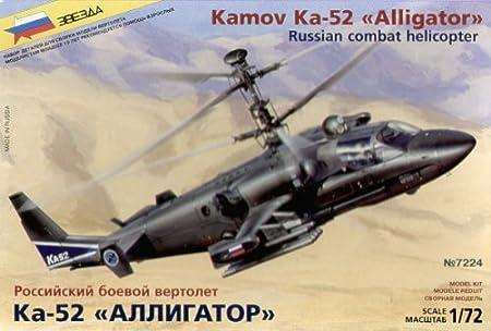 Zvezda - Z7224 - Maquette - Kamov KA-52 Alligator - Echelle 1:72