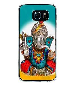 Ganpati 2D Hard Polycarbonate Designer Back Case Cover for Samsung Galaxy S6 G920I :: Samsung Galaxy G9200 G9208 G9208/SS G9209 G920A G920F G920FD G920S G920T
