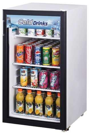 Turbo Air Tgm-5R, 1 Door, Glass Swing Door Refrigerator front-617366