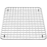 InterDesign Sink Grid, Large, Polished Stainless Steel