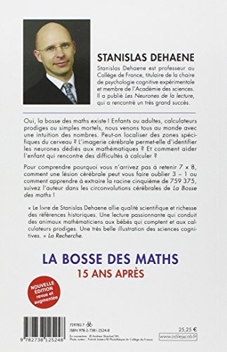 libro la bosse des maths quinze ans apr s di stanislas dehaene. Black Bedroom Furniture Sets. Home Design Ideas