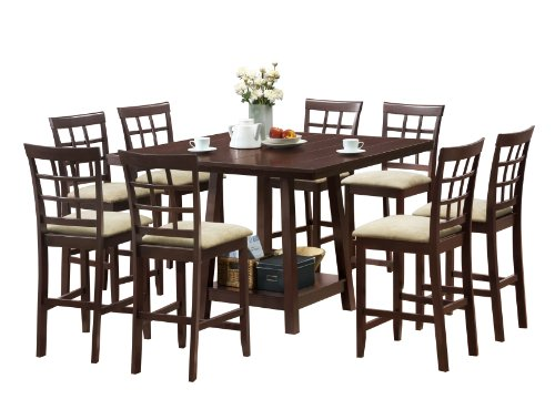 9 Piece Pub Dining Set